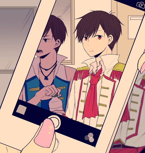 Osomatsu-san- Osomatsu and Karamatsu #Anime「♡」F6