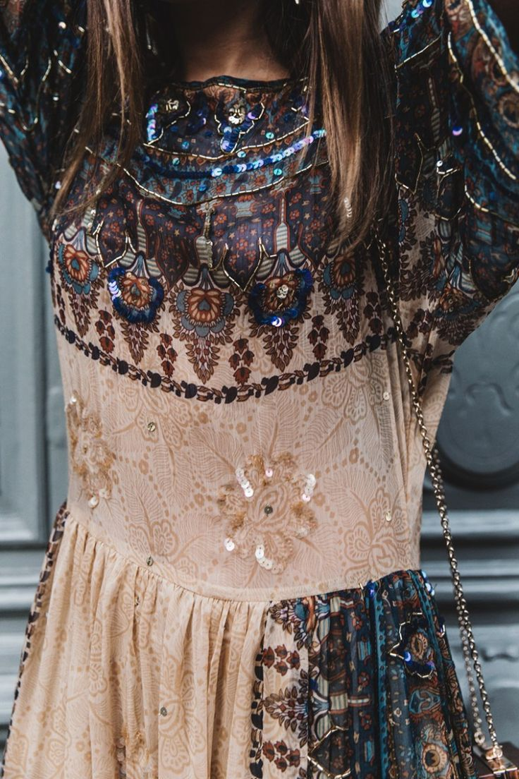 boho dress #sequins #gorgeous