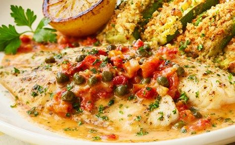 "Tilapia Piccata - Olive Garden unveils new 'Tastes of the Mediterranean"" menu - The Artful Gourmet :: NYC Food Stylist + Photographer"