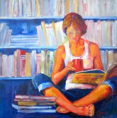Reading and Art: Karen Cooper, Personal collection