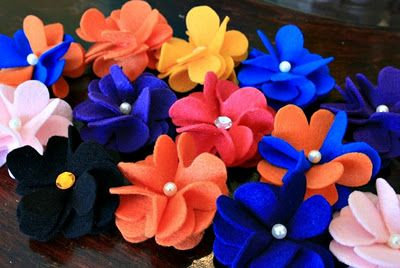 DIY Felt Flower Headband
