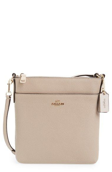 Coach Leather Crossbody Bag Available At Nordstrom