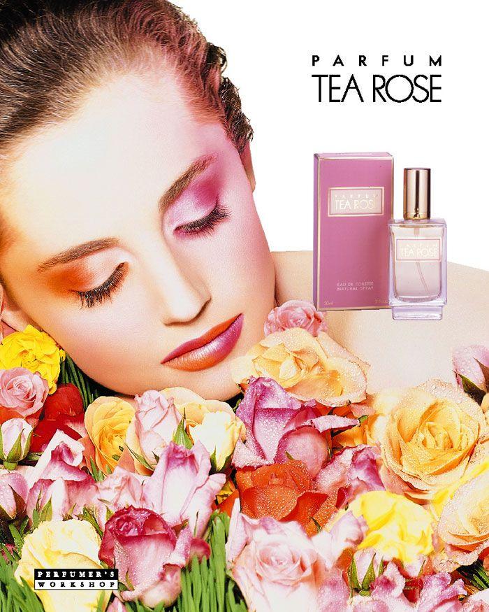 Parfum Tea Rose by Perfumer's Workshop, print ad