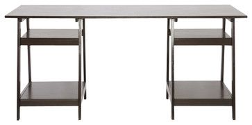 Mott Modern Large Desk transitional-desks-and-hutches