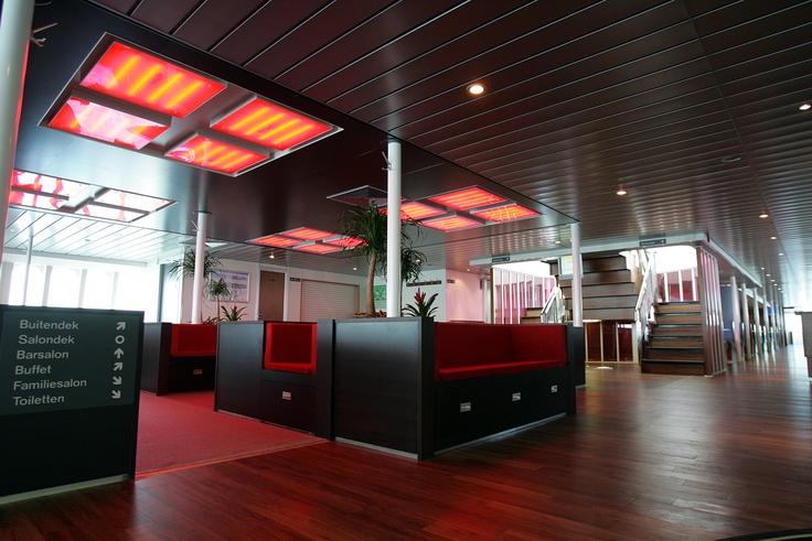 ... Vlieland: welkom in de hal (Rederij Doeksen) | MS VLIELAND | Pinterest