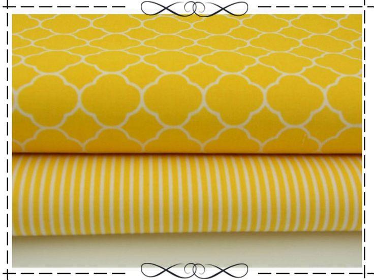 Epic Baumwolle marokkanisches Gitter klein gelb