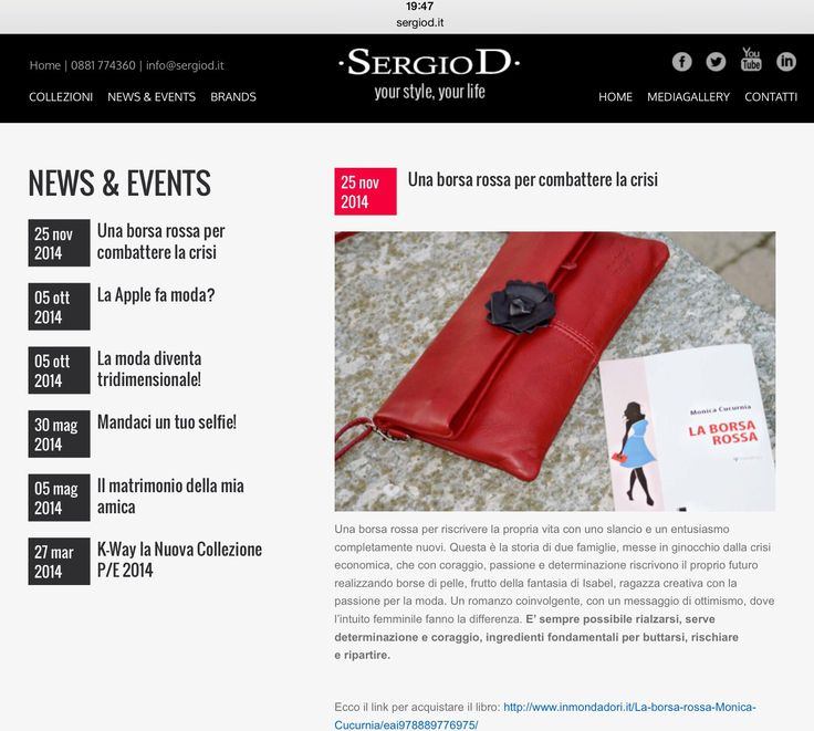 La mia borsa rossa catturata da SergioD di Foggia. https://www.facebook.com/pages/SergioD-Abbigliamento/421395201211687