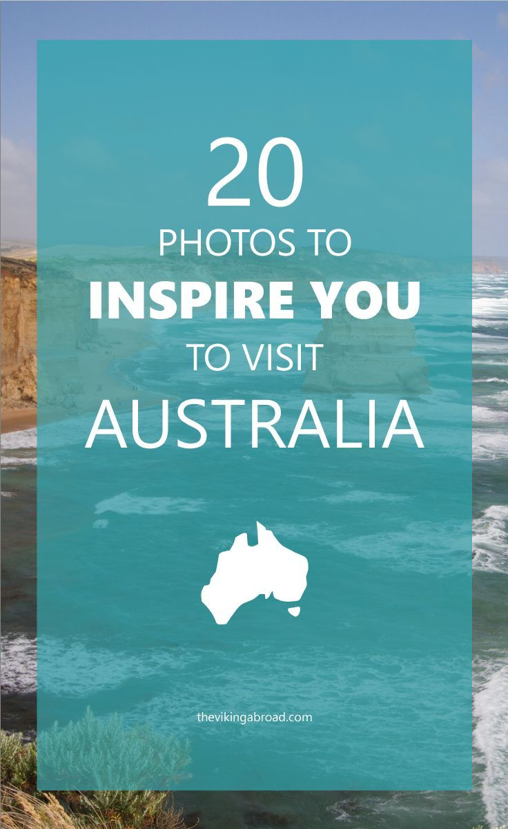 Need some travel inspiration? Or always wanted to travel to Australia? Look no further. Here is a selection of 20 photos that will inspire you to visit Australia. I have collected all of this after living there for 3 years.