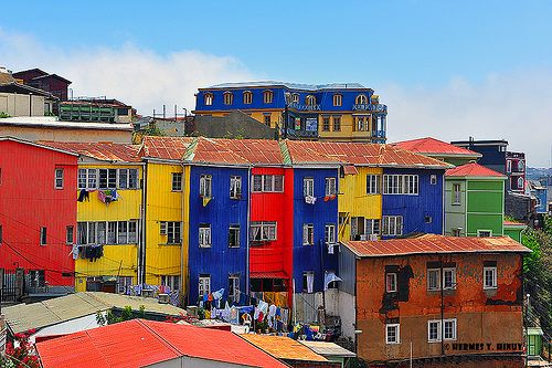 Colors of Valparaiso, Chile