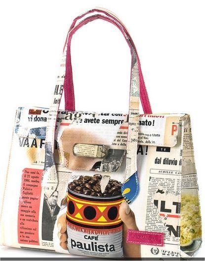 bolsas de revistas recicladas - Buscar con Google