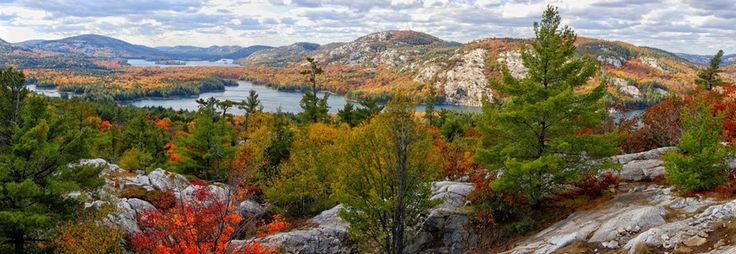 Killarney Park in Ontario along Georgian Bay is an amazing place to visit. The Cloche Mountains are one of those rare geological quirks that are a treat to hike.
