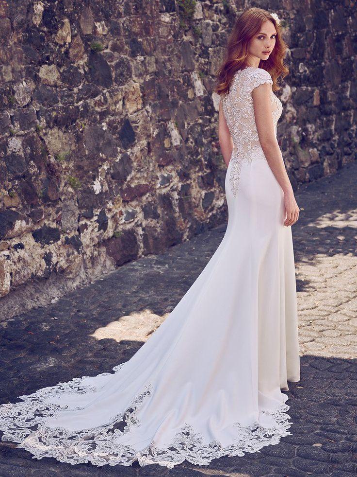 213 best Wedding Gowns images on Pinterest | Wedding frocks, Short ...