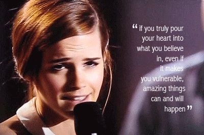 And she delivered an inspirational speech while accepting it. | The 28 Most Flawless Emma Watson Moments Of 2013