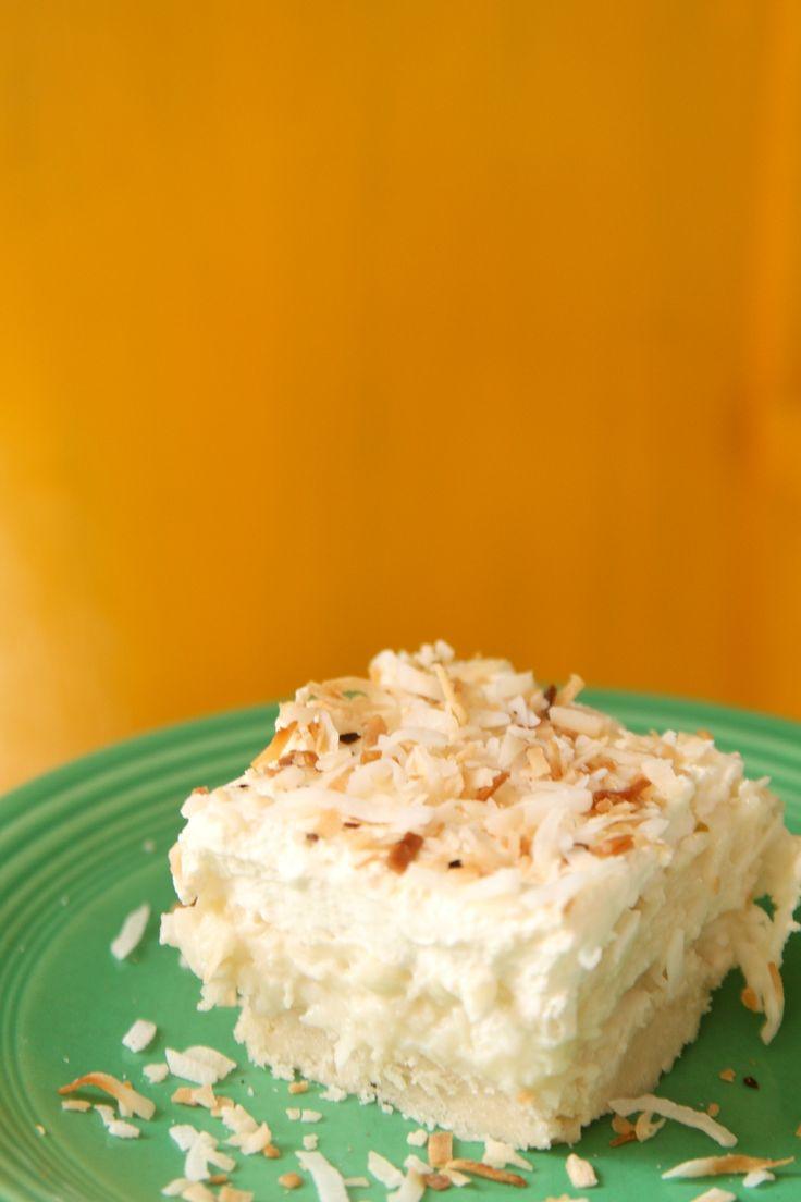 coconut cream pie squares