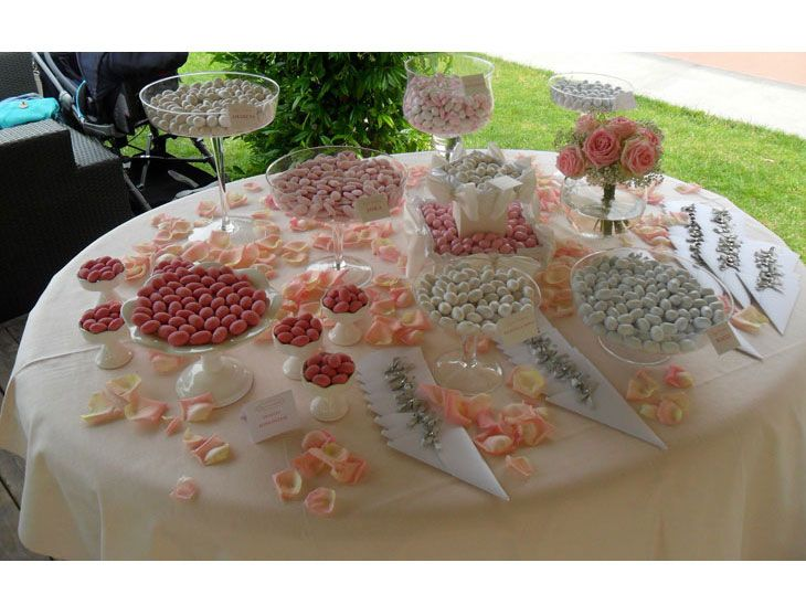 Tavola della confettata, Confetti, Dragées, Bomboniere Arona, Confettata Lago Maggiore