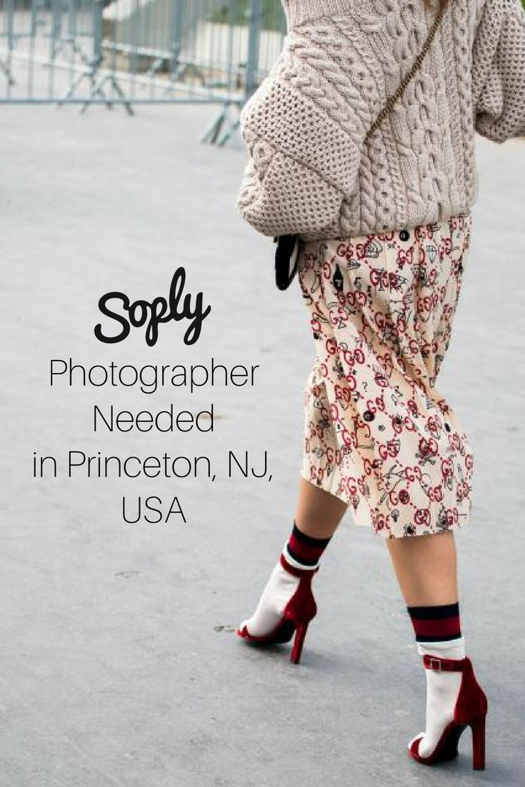 #Photographer needed for a #fashion #clothing #photoshoot in Princeton, New Jersey, USA. The #client has a #model for the shoot. See the #photography job and apply by clicking the pin!