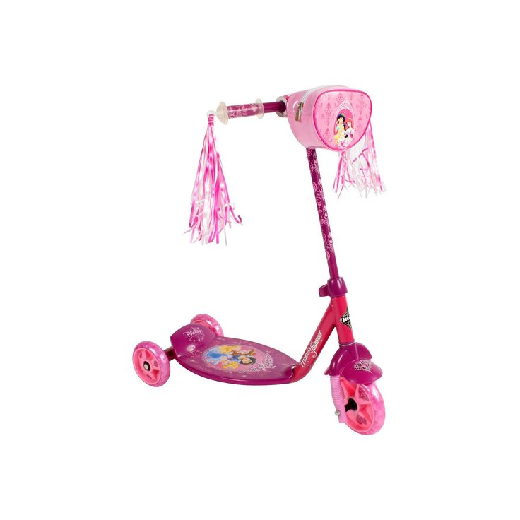Huffy Disney Princess 3 Wheel Scooter - Pink