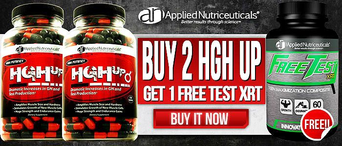 #AppliedNutriceuticals #HGHup - An all encompassing formula that promotes radical increases in Serum #HGH and #Testosterone levels!  Bodybuilding Supplements SuperStore: The leading online source of Discount Bodybuilding Supplements & Sports Supplements!