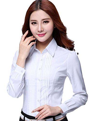 おすすめ (フムフム) fumu fumu トップス シャツ ブラウス 白 長袖 大きいサイズ 5XLまで 秋 冬 通勤 Yシャツ ホワイト