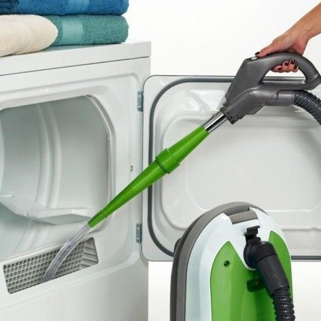 Get an attachment for your vacuum that'll help clean your dryer's lint trap or try a brush to scrub out all the lint. | 37 Seriously Useful Tips Every Neat Freak Needs To Know