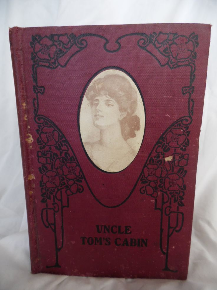 Uncle Tom's Cabin by Harriet Beecher Stowe vintage book by theposterposter on Etsy