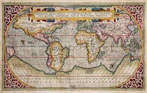 9 best world maps images on pinterest mapas del viejo mundo mapas 1589 world map gumiabroncs Images