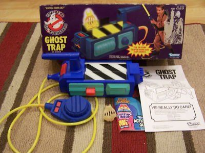 "Kenner's The Real Ghostbusters Ghost Trap. Now, you get yourself the matching Proton Pack and a sweet khaki jumpsuit and you're well on your way to trapping all those ghosts in uncle Bill's ""off limits"" room."