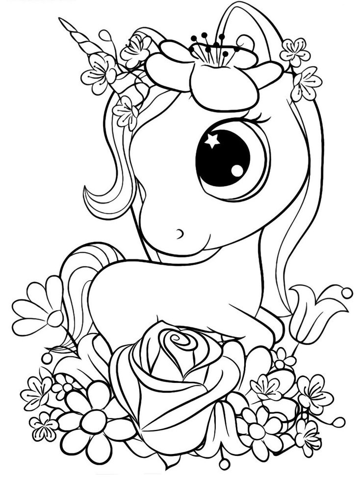 Pin by Mini on ColorSheets | Unicorn coloring pages ...