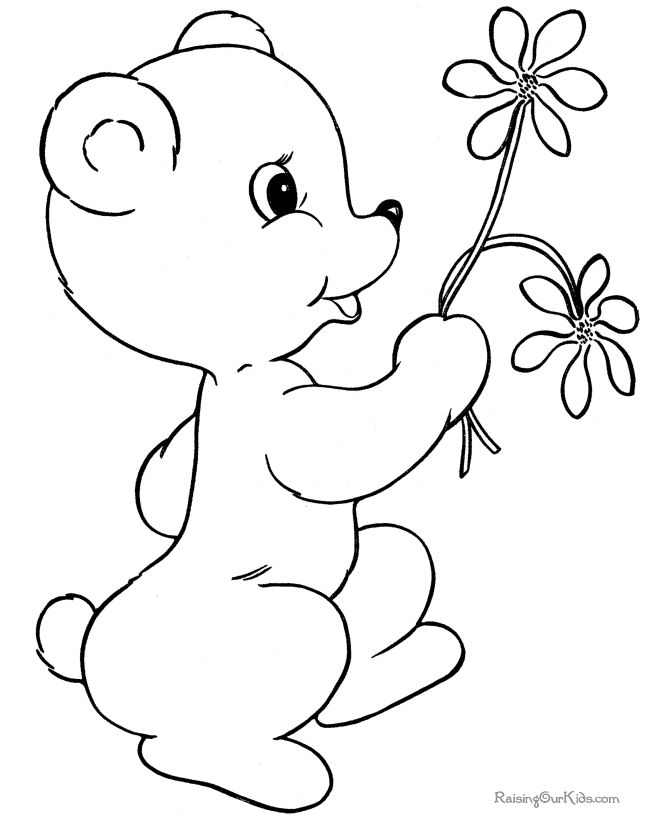 Free Printable Coloring Pages Teddy Bear : 69 best coloring pages images on pinterest