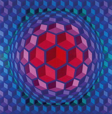 Hella Heaven: Victor Vasarely - Op Art