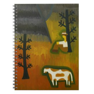 In the Silence of the Mountain 2007 Spiral Note Book