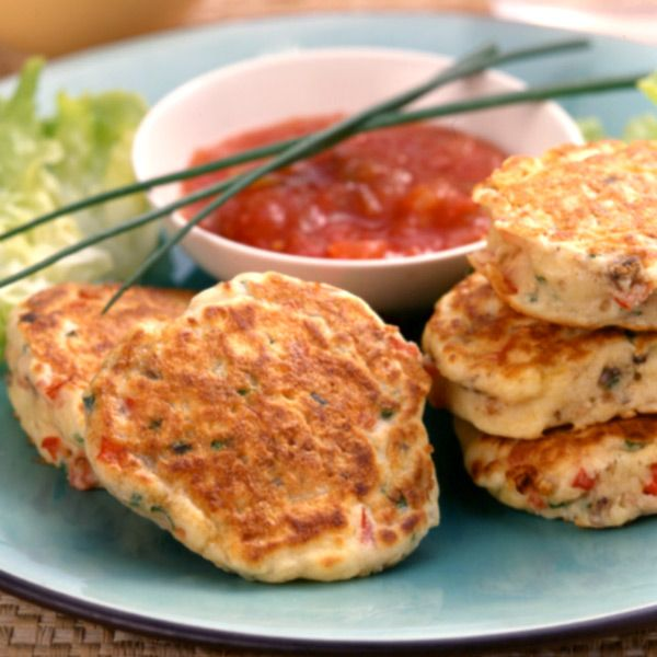 Vegetable Fritters | Healthy Recipes