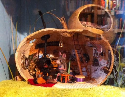 Maggie Rudy S Mouse Diorama Dioramas Pinterest Beans