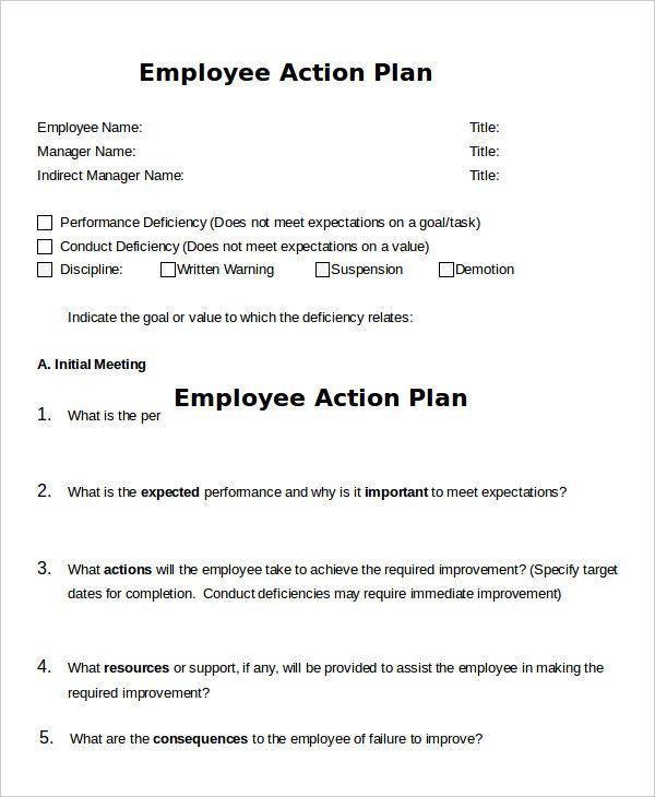 Action Plan Templates 25 Free Printable Word Excel Pdf