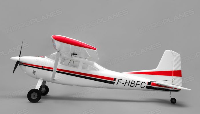 Aerosky 185 Sky Trainer w/Float 4 Channel ARF Almost Ready to Fly 1500mm Wingspan (Red)