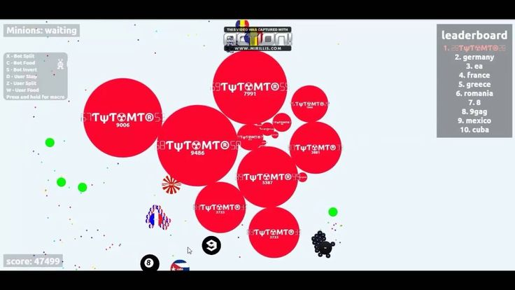 Agario gameplay server privado 48k score
