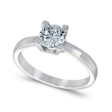Ring White gold 14k Diamonds