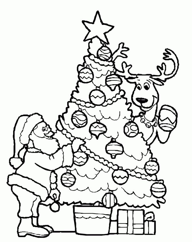 45 best anne s 2 images on coloring books christmas detail christmas tree and santa coloring page