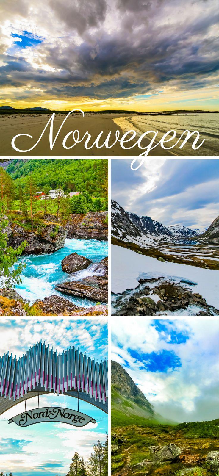 Norwegen Landschaften wie aus dem Bilderbuch. Hier findest du jede Menge tolle Tipps für deine Reise mit dem Wohnmobil. Norwegen muss man einmal bereist haben.