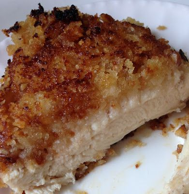 Maple Pecan Crusted Chicken -omit panko breadcrumbs