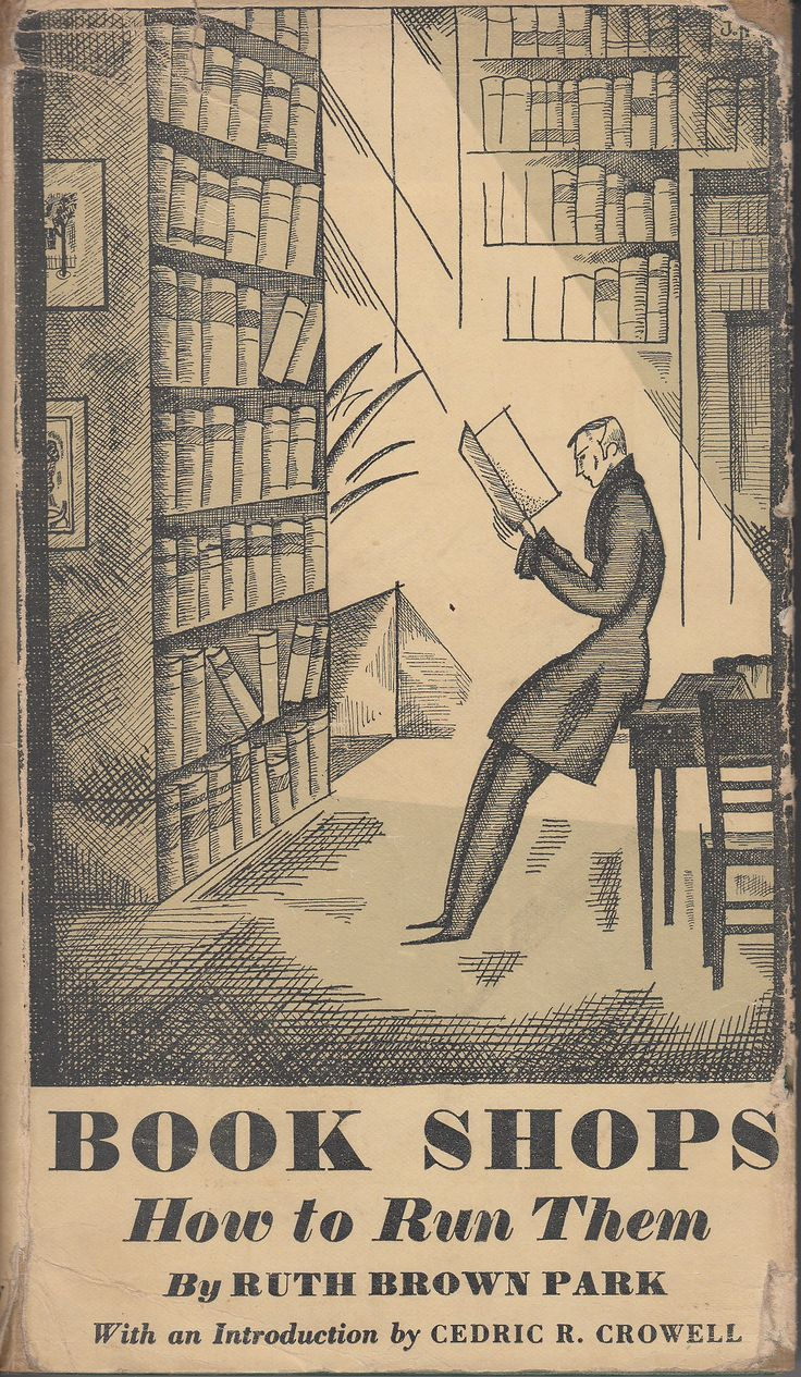 bookpatrol:       When Publishers Ran Bookshops       Book Shops How to Run Them by Ruth Brown Park Doubleday Doran Book Shops, ...