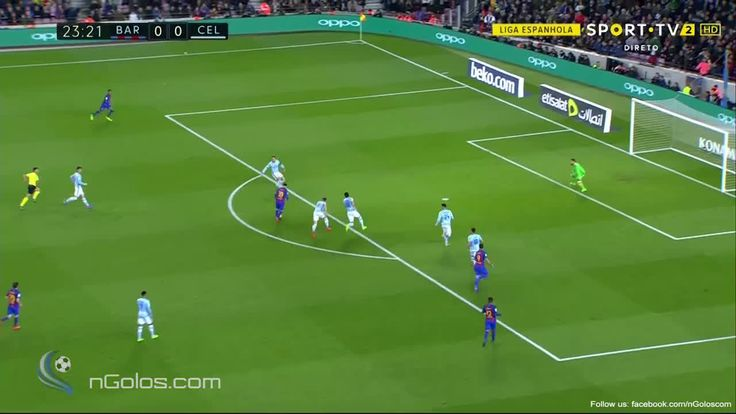 Brilliant Messi goal vs Celta Vigo http://ift.tt/2mq7DD2 Love #sport follow #sports on @cutephonecases