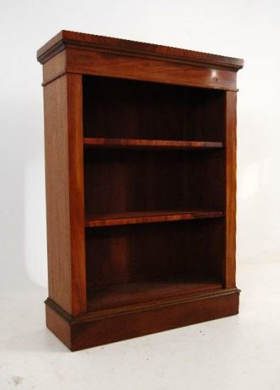 Really good quality solid mahogany open bookcase, that's been reconstructed from other antique furniture. This bookcase is very well constructed by a master cabinet maker just like the original one would be, in fact even better than most I've come across.