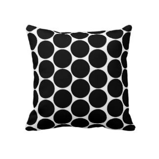 Dots & circles make for funky modern cushions