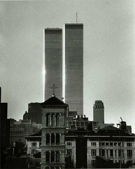 best world trade center twin towers images new  kertesz the twin towers world trade center 1973 2001