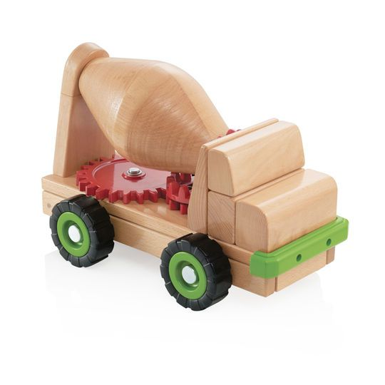 Guidecraft Block Science, Big Cement Mixer Truck