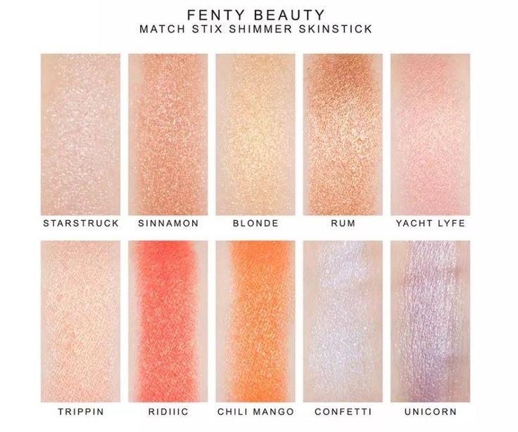#12Colors Beauty Match Stix  7.1g Shimmer Skinstick Starstruck Highlighter Stick #Unbranded