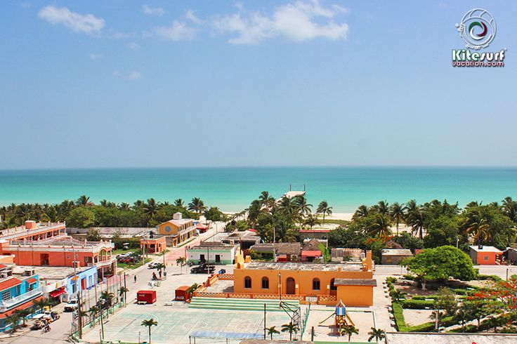 A relaxed morning before the thermal wind starts! Panorama El Cuyo, Yucatan, Mexico! Secret Kitespot.
