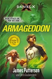 Daniel X: Armageddon - James Patterson. This is book 5 in the series. Daniel faces dastardly Number Two, who has slowly been amassing an underground army of aliens to help him enslave Earth's population in preparation for the arrival of Number One, the most powerful alien in the universe and Daniel's arch-nemesis.