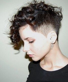 hair style with curly hair 1000 ideas about side hair on undercut 7078 | 8c6eb0faaf6db66e7078c37327ddc568